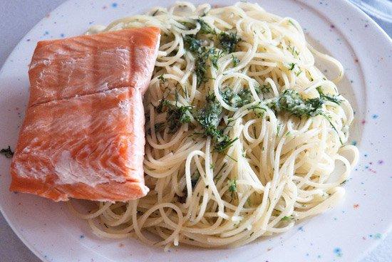 salmon gremolata